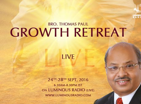 Retreat by Bro. Thomas Paul LIVE
