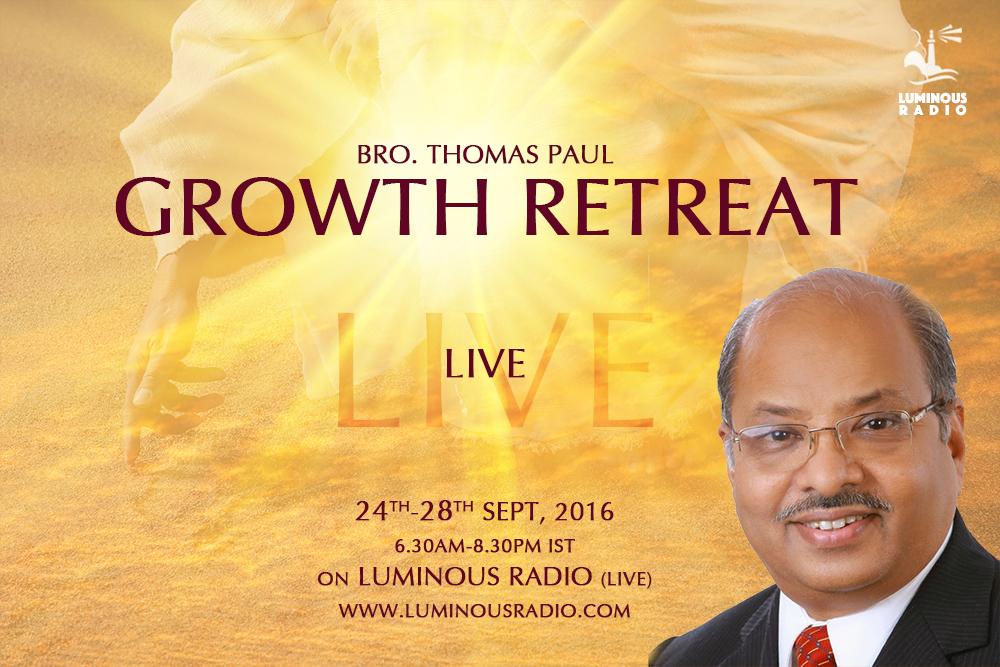 Retreat by Bro. Thomas Paul LIVE