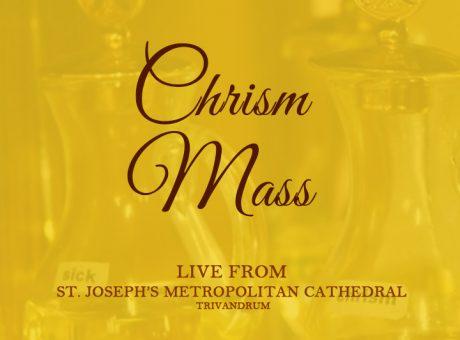 Chrism Mass Live