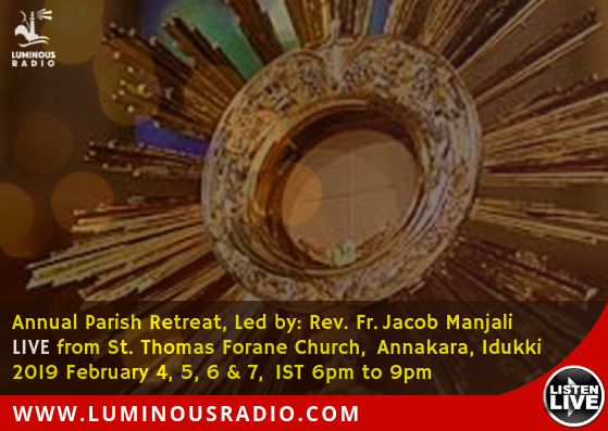 Luminous Radio | Catholic Online Radio in Malayalam, Hindi